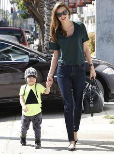 Flynn, hijo de Orlando Bloom y Miranda Kerr, marca estilo con sólo dos añitos - Foto 1
