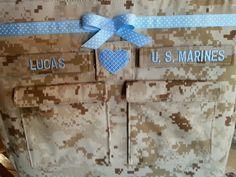 Handmade  Marines Diaper bag embroidery desert or woodland Marine choose colors #Handmade