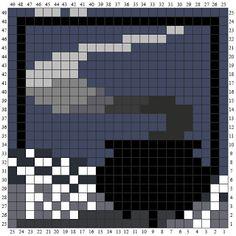 Ravenpuff & Magic Stuff: Harry Potter Crochet c2c squares