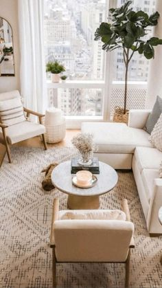 Small Apartment Living, Living Room On A Budget, Boho Living Room, Small Living Rooms, Living Room Interior, Living Room Designs, Modern Living, Small Apartment Interior Design, Bohemian Living
