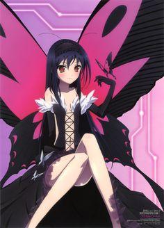 Black Lotus Accel World Sword Art Online, Online Art, Accel World, Anime Reviews, Kaichou Wa Maid Sama, Beautiful Anime Girl, Manga Characters, Kawaii Girl, Anime Figures