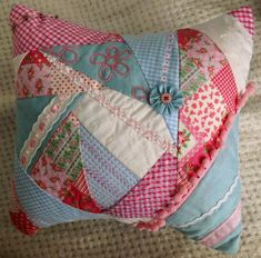 DIY Crazy Patchwork DIY Crafts