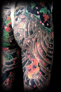 TATTOO/IREZUMI/ART/Irezumi Japanese traditional art 'Oukoshisei' carp