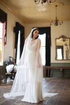 Dramatic Juliet Cap Veil by AgnesHart..... adore!!! xx