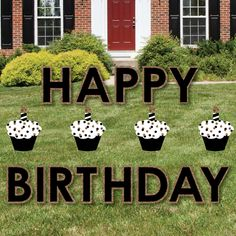 16 Best Birthday Yard Signs Images
