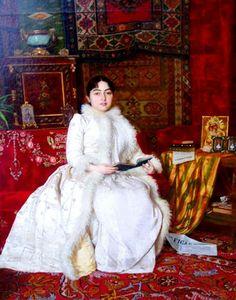 Queen Natalia Obrenovic of Serbia