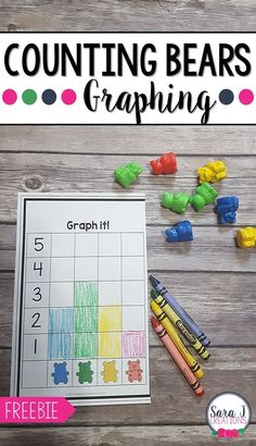 Counting Bears Graphing - The Perfect Introduction to Graphing