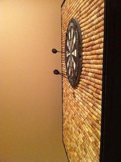 Must-Haves For Your Man Cave | Man Cave: Cork Dart Board