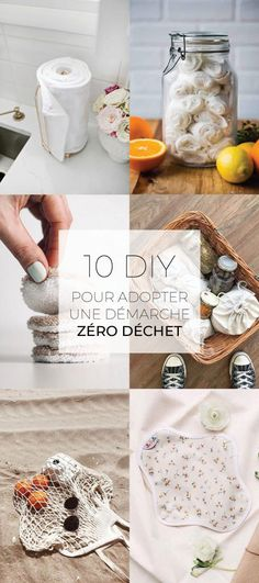 10 DIY to adopt a zero waste approach – At the corner of the streets – creative workshops … Gel Nails At Home, Diy Nails, Nail Nail, Zero Waste Home, Ard Buffet, Creative Workshop, Diy Blog, Mason Jar Crafts, Green Life