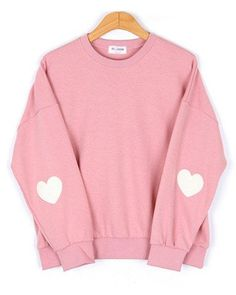 Pink Heart Sweater – INU INU