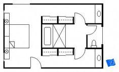 Best 12 Bathroom Layout Design Ideas | Bathroom | Master bathroom ...