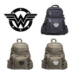 Wonder Woman Logo Army Sport Heavyweight Canvas Backpack Bag, http://www.amazon.com/dp/B01E9KGWDK/ref=cm_sw_r_pi_n_awdm_9vXHxbETB0345