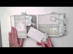 WeR Memory Keepers Winter Frost Mini Album-would be great if a little larger & use simple stories