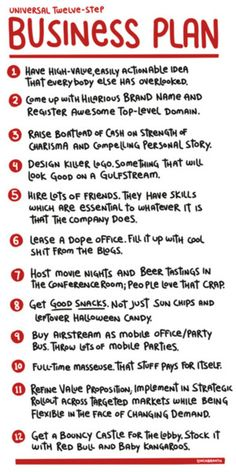 Business Plan used by friends. Do not try this at home wisdom shared for business mentors by @Patty DeCillo