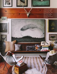 Rebecca Rebouche's home featured in Anthology Magazine Issue no. Interior Desing, Interior Inspiration, Interior Architecture, Interior And Exterior, Interior Decorating, Casas Interior, Modern Interior, Decorating Ideas, My Living Room