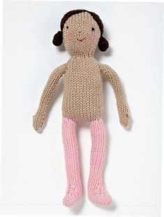 Basic Knitted Doll (Free Knitting Pattern) – Craftfoxes Best Picture For knitting patterns toys For Your Taste You are looking for something, and Handmade Dolls Patterns, Knitting Dolls Free Patterns, Knitted Dolls Free, Knitted Bunnies, Knitted Animals, Free Knitting, Baby Knitting, Knitting Toys, Beginner Knitting