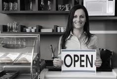 Open for business! Click above to read our first post