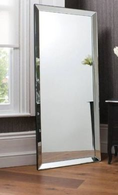 A BIG full length mirror is a must in the bedroom and/or bathroom.