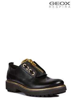 7630ea97ed6c Buy Geox Asheely Plus Black Lace-Up Shoe from the Next UK online shop
