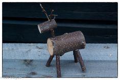 Rentiere und Elche aus Holz & Ästen - HE DO