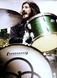 John Henry Bonham- always had a thing for drummers