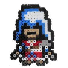 Ezio Assassin's Creed perler beads by mattyperler