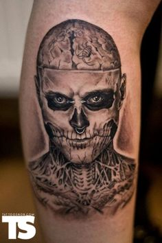 Tattoo By Sven Rayen At Vinnie Stones Sinsin Tattoo In Antwerp, Belgium