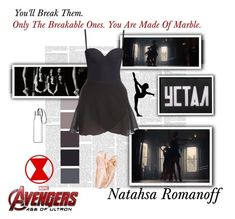 """""""Natasha Romanoff / Black Widow - Avengers : Age Of Ultron"""" by gone-girl ❤ liked on Polyvore featuring Marvel, Eva Solo, H&M, Classique, marvel, NatashaRomanoff, BlackWidow, mcu, AAOU and redroom"""