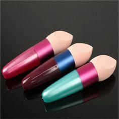 Makeup Foundation Sponge Blender Blending Cosmetic Puff Flawless Powder Smooth bullet Puff Beauty Makeup Tool