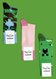 Minecraft socks!