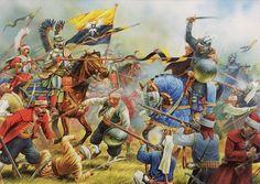 """Akka Kuşatması- 1799 Napolyon'un """"Kader beni bir ihtiyarın oyuncağı yaptı."""" demesine neden olan savaştır. Osmanlı'nın zayıflığından faydalanıp Akka Kalesi'ni kuşatan Napolyon, Kasap Ahmet Paşa tarafından yenilgiye uğratılmıştır."""