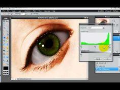Enhance Eye Color-hue and sat, levels Fantasy Photography, Photography Tips, School Photography, Camera Hacks, Camera Tips, Bing Video, Online Fashion Stores, Eye Color, Photo Editing