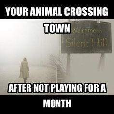 So damn true. I'm terrified to go back after a month.