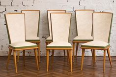 dining chairs 1950s.