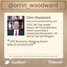 @orrin_woodward's Twitter profile courtesy of @Pinstamatic (http://pinstamatic.com)