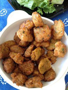 accras de légumes du Vendredi Saint... veggie west indian hush puppies
