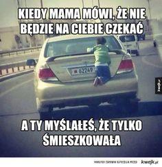 Mama Memes Humor, Funny Memes, Jokes, Polish Memes, Sense Of Life, Everything And Nothing, Teen Posts, Body Language, A Funny