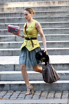 <font><font> 50 Melhores Looks de Carrie Bradshaw</font></font>  - HarpersBAZAAR.com