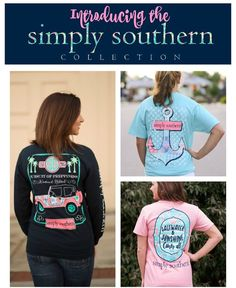 Introducing our new line of Simply Southern tees and accessories!  featuring southern state designs cute graphics and witty sayings Simply Southern  is a huge hit in the south right now. The Posh Pineapple loves this new line and knows you will too! Get yours here:http://ift.tt/222sxrh #simplysouthern by theposhpineapplensb