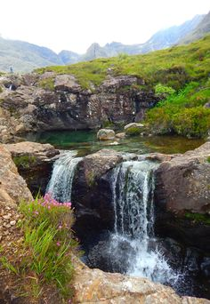 Fairy Pools, Glen Brittle, Isle Of Skye, Scotland, UK