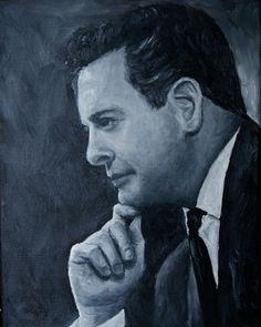Custom Portrait Original Painting tonal oil by JBeaudetStudios, $375.00