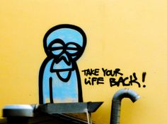 Take Your Life Back! Graffiti in Düsseldorf