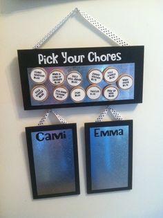 home organization | chore chart | Home Organization