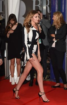 """e491ab0c hot-miniskirts: """"Abbey Clancy's amazing legs on full display here! Check out"""