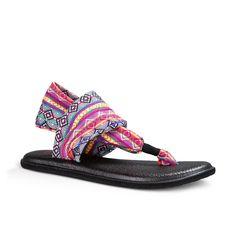 Sanuk Womens Sandals Yoga Sling 2 Prints
