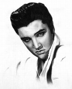 Elvis<3 pencil drawings by Matthew Leader.