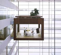 suspended meeting rooms. if this doesn't make you want to wrap it up as soon as possible, i don't know what will!