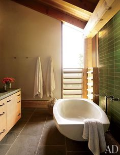 bathroom - Ike Kligerman Barkley Architects : Architectural Digest