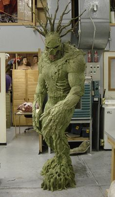 foam monster suit | mark stevens tests the unfinished man thing suit
