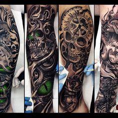 my favorite set ✌️ По доброму завидую вам друзья Жаль, что я не могу сам себе забить ногу (это была бы грандиозная работа, как и сама идея) #drozdovtattoo#tattooinstartmag#tattoostyle#chicano#tattooart#blackandgrey#tattoolife#inkkaddicted#inkdollz#tattooed#style#sleevetattoo#tattoozlife#instatattoo#sullen#tattoos#lowridertattoostudios#goodfellastattio#ink_life#inkeeze#minddlowingtattoos#lifestyletattoo#worldtattoo#tattoos_of_instagram#inkjunkeyz#ru_tattoo#inknationofficial#drozdov_ink